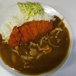 五番 - カツカレーライス(¥800)