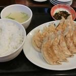 餃子専門店 福吉 - 餃子定食