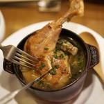 ビストロ シェブン - 三河赤鶏コンフィ スープ仕立て