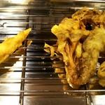天ぷら酒場 by つか蕎麦 - ヤングコーン、舞茸天