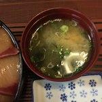 伊澤家 - 味噌汁アップ