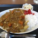 食楽厨房 まるや - 料理写真:カツカレー