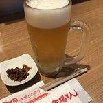 矢場とん - まずは生ビール