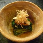 寿司 竹本 - ☆まずは松茸のお浸しから~☆