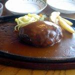 キャトルセゾン - ハンバーグステーキ・デムグラスソース