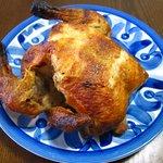 ポント バー ショップ - 料理写真:鶏の丸焼き