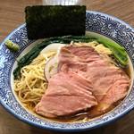煮干しつけ麺 宮元 - 冷製煮干し中華そば(醤油)800円