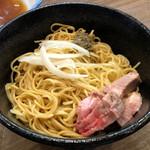 煮干しつけ麺 宮元 - 冷製和え玉200円