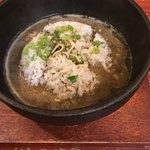 ラーメン考房 昭和呈 - 鉄鍋飯、南海サンマ醤油仕立て