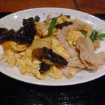 Toukaishuka - ランチのきくらげと豚肉の卵炒め