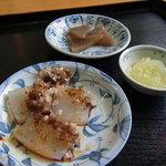 西沢渓谷蒟蒻館 - サービスの蒟蒻小鉢