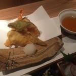 きろく - 彩り御膳、天ぷら盛り合わせ