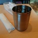 カフェと印度家庭料理 レカ - ・紙オシボリ、水のおかわりはセルフで