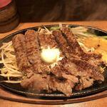 1ポンドのステーキハンバーグ タケル - プレミアム チャックアイステーキ200g(1,000円)