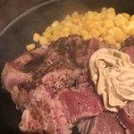 いきなりステーキ - ワイルドステーキ300gの登場時。これから仕上げ焼き