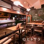 ビストロカフェ グラポン - オープンテラスで開放的な気分の中で食事が楽しめます