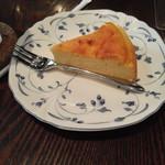 蔵カフェ - 本日のケーキ(チーズケーキ)400円