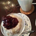 蔵カフェ - 酒粕あずき・かき氷