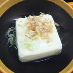 丼太郎 - 冷奴でかい(2018.6.15)