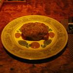 バー レガシー - 「青森県産鴨肉のハンバーグ」です。