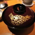 乙女寿司 - 30年7月 ハタアラ味噌汁