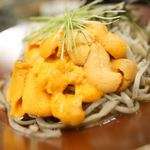 大衆天ぷらtoかすそば風土.はなれ - ウニそば