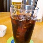 Flat Cafe - 大きいサイズのアイスコーヒー