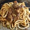 Kamehachishokudou - 料理写真:味噌焼きうどん完成