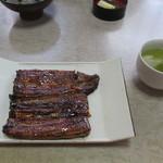 坂平 - 料理写真:蒲焼き(2100円)