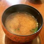 植木 - シジミの味噌汁