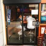 ヴァスコ・ダ・ガマ - お店の入口です。(2018.7 byジプシーくん)