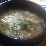 牛角 - 「石鍋ごまねぎ塩ラーメン(745円)」[平成30年7月19日(木)]