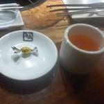 牛角 - 左から「チョコレート」、「カムカム・ジュース」[平成30年7月19日(木)]