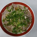 寿楽亭 - チャーシュー麺 ¥730