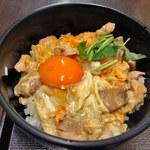 喜三郎農場 - 地鶏の夕焼け親子丼定食(特上)