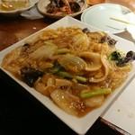和中華と麺 丹陽 - あんかけ焼きそば