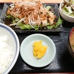 三忠食堂 - ポ-クソテ-定食