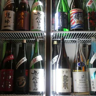 充実の日本酒をご用意◎