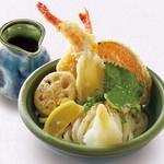 讃岐の味 塩がま屋 - 天ぷらおろしぶっかけうどん