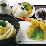 讃岐の味 塩がま屋 - 日替り天ぷら定食