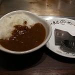 戸田亘のお好み焼 さんて寛 - ミニカレーセット300円