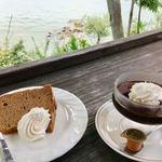 シャーレ水ヶ浜 - シフォンケーキと珈琲ゼリー