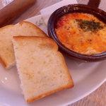 ドトール珈琲農園 - ミニグラタンとトースト
