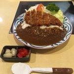 にいむら - 国産豚ロース 100gのとんかつカレー('18/07/20)