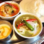 Asian Kitchen Sapana - タイカレーセット