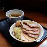 つけ麺 舞 - つけそば + 豚肉増し + 味玉☆