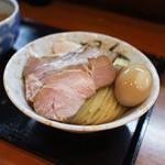 つけ麺 舞 - 料理写真:つけそば + 豚肉増し + 味玉☆