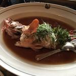 89534597 - 海石斑 活ハタ Live grouper 清蒸 油泡 生炆 / 活魚の蒸し物 炒め 煮込み