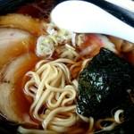朝日屋食堂 - チャーシュー麺アップ