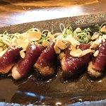 和食 縁 蕎麦切り - 河内鴨のたたき